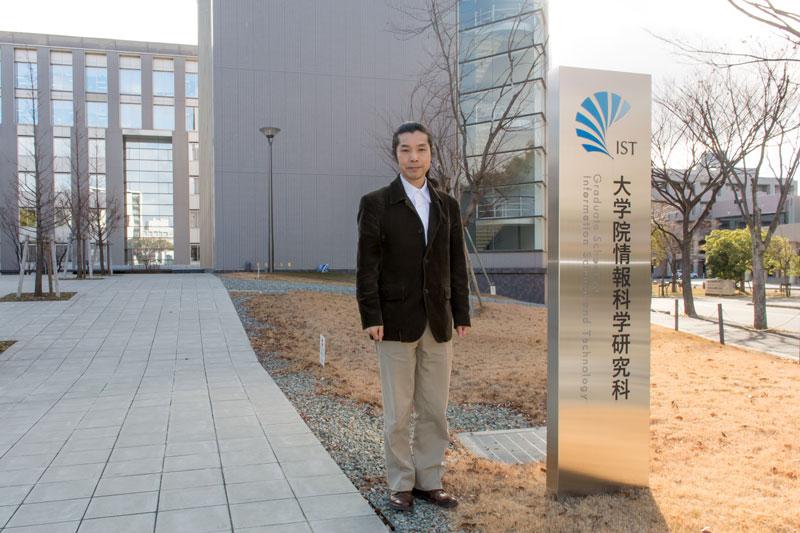 情報基礎数学専攻 専攻長 和田昌昭